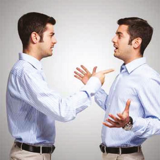 Je öfter sich jemand beschwert, desto seltener kann er sich erleichtern.